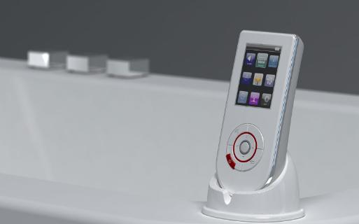 Badkamerradio: wipod draadloos audio systeem badkamer audio